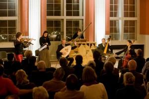 Bell Arte Salzburg und Monika Mauch im Rathaussaal, Arnstsdt