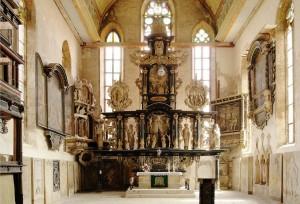 Oberkirche Altar von Burkhard Röhl