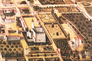 Schloßgarten mit Neideck_Ausschnitt_Wolf Kelner 1579_Schlossmuseum